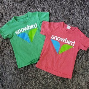 Kids SNOWBIRD Ski Resort T-Shirts